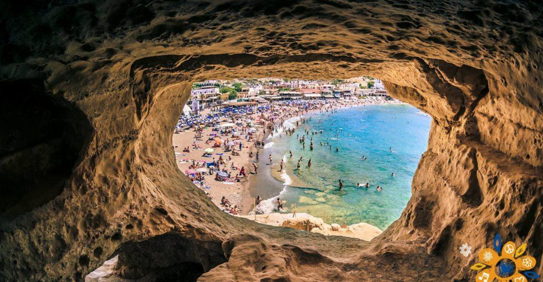 Matala caves